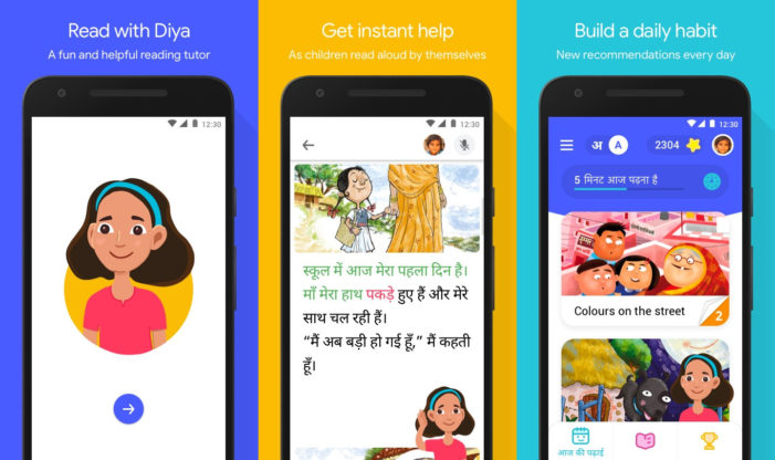 Google launches learn-to-read app for children in India
