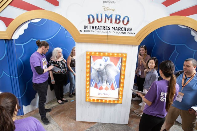 Disney's Dumbo and Accenture Interactive collaborate for the movie poster of the future