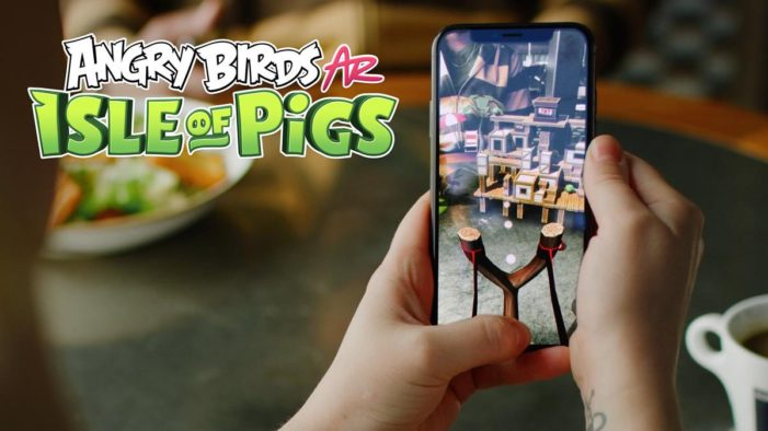 Angry Birds AR game launches on the App Store