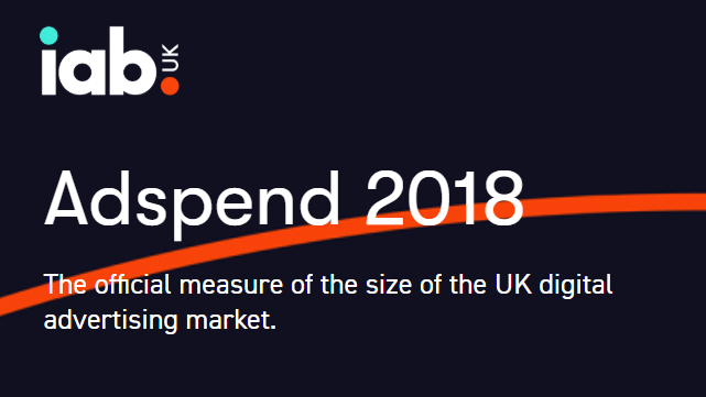 New IAB UK / PwC Adspend study reveals total UK digital ad market worth £13.44BN in 2018