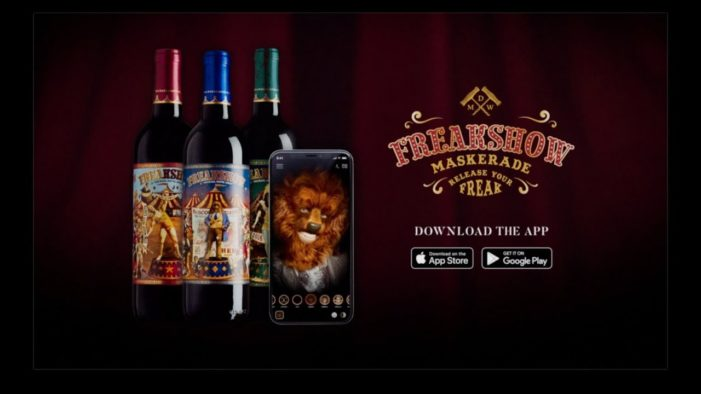 "Michael David Winery Launches ""Freakshow Maskerade"" Face Filter App"