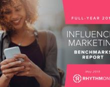 RhythmOne Releases Full-Year 2018 Influencer Marketing Benchmarks Report