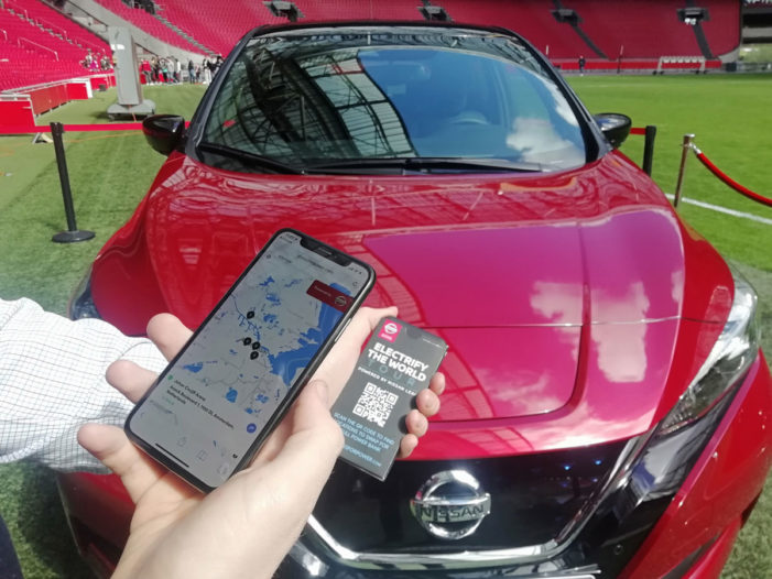Nissan provides unlimited mobile charging with Lifesaver Power