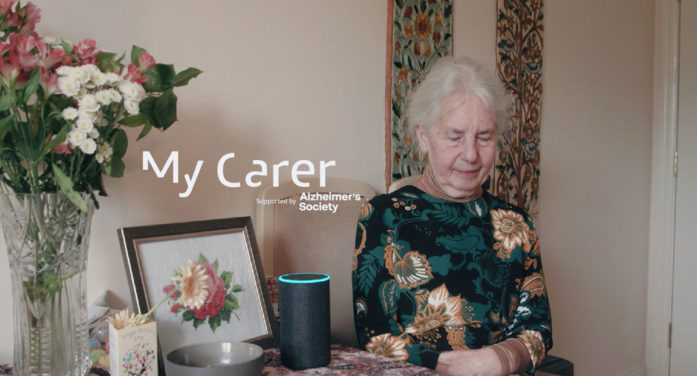New Alzheimer's Society supported Alexa Skill to help people living with dementia stay independent