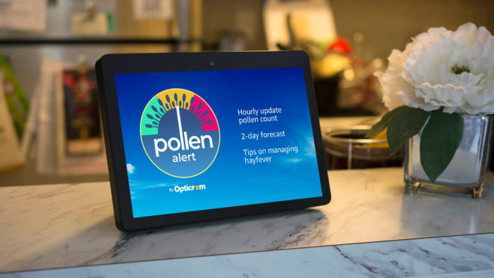 Sanofi's Opticrom teams with Mindshare to launch UK's first voice-activated pollen alert