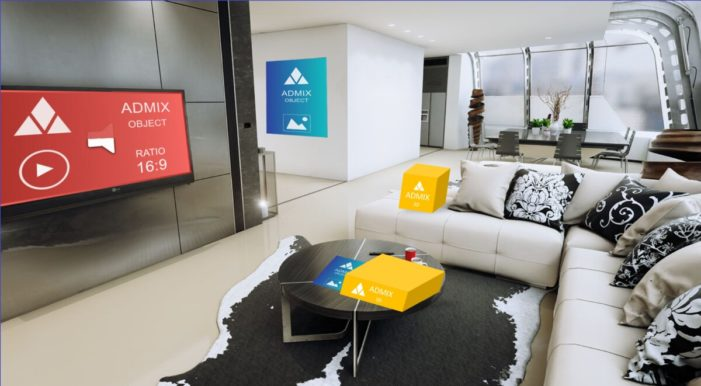 Admix announces first 3D programmatic ads for XR, VR and AR