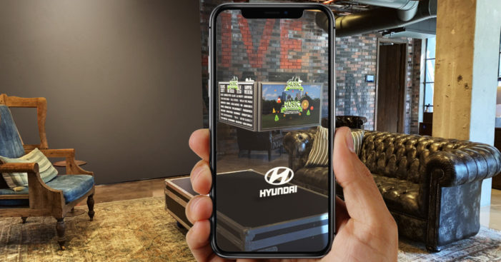 Hyundai to promote its all-new 2020 Sonata at Music Midtown Festival with Live Nation's AR experiences