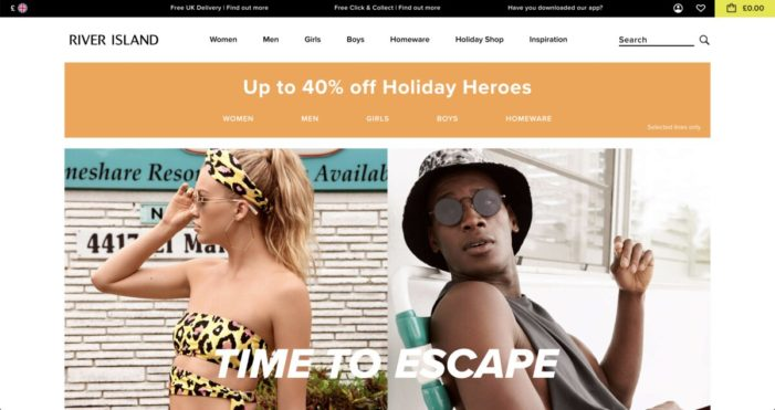 River Island boosts social shopping with Curalate to align social shopping experiences