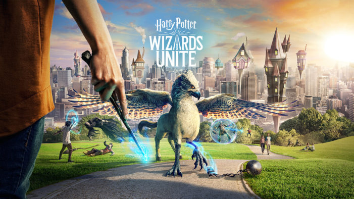 The Harry Potter mobile AR game is officially here