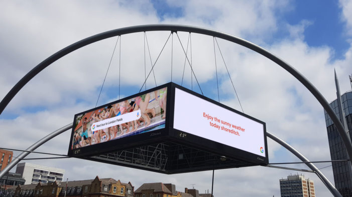 "Google Launches Data-Driven DOOH Campaign ""Make the Most of Summer"""