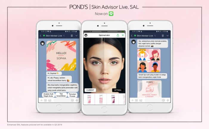 Pond's launches AI tool to match people to skincare products