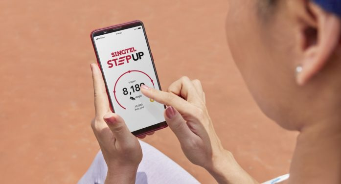 Singtel partners with AIA to launch wellness platform StepUp