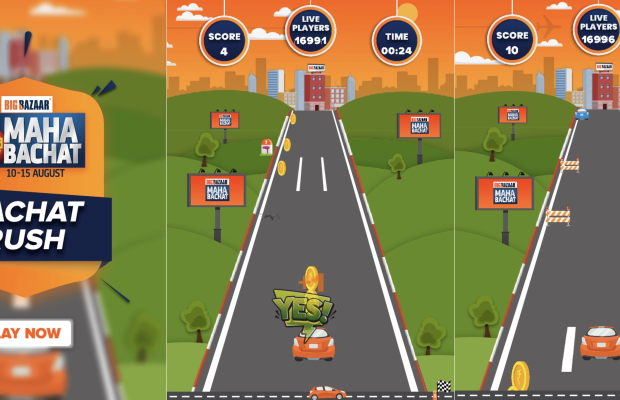 Indian Superstore Big Bazaar Kicks-Off Shopping Festival with 'Bachat Rush' Game