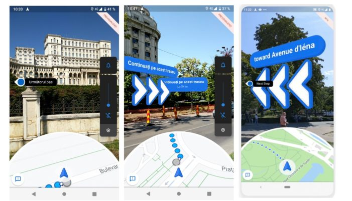 Google launches AR walking directions in Maps