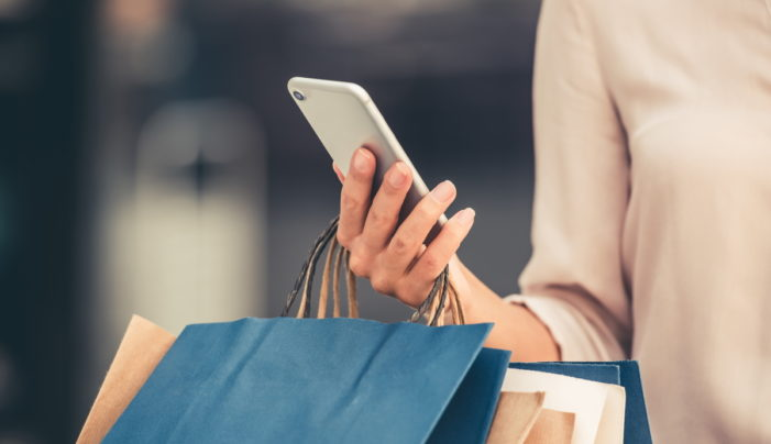 Smartphone overtakes the laptop as the top device when shopping, says new research