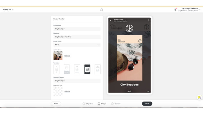 Snapchat rolls out Instant Create easy ad creation tool