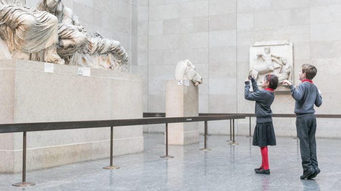 British Museum and Samsung offer 35,000 school pupils the chance to virtually visit the Museum