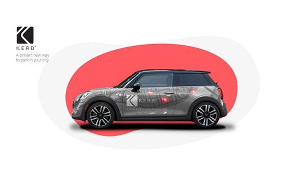 KERB, the parking space marketplace app teams with on-car ad platform, Adverttu