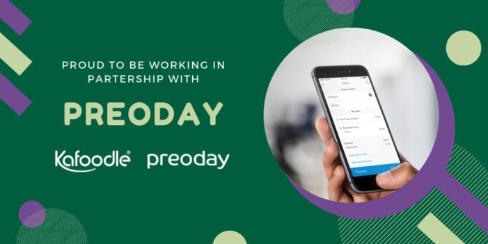 Preoday and Kafoodle form technology partnership aligning digital ordering and allergen management