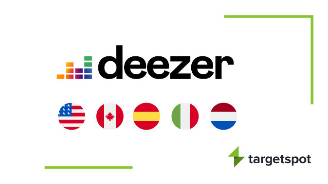 Deezer and Targetspot announce exclusive Audio Ad Sales partnership in 5 countries