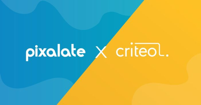 Criteo team with Pixalate to provide additional protection for advertisers' investments
