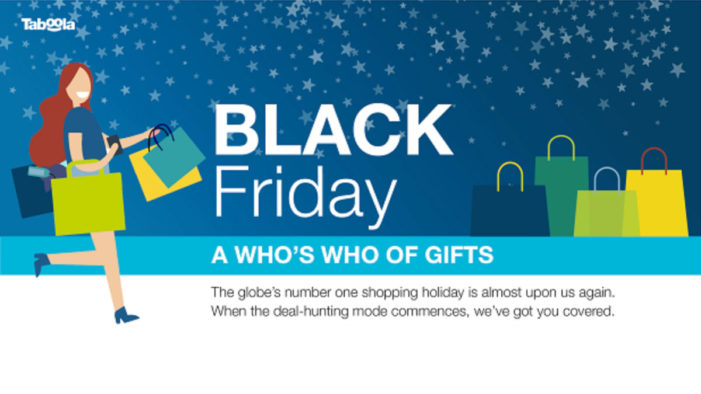 Technology-related items are the most popular products for customers looking for Black Friday deals worldwide