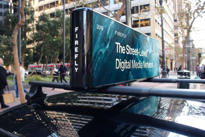Firefly Unveils New 'Sunrise' Screen, The Most Advanced Media Display in Out-Of-Home