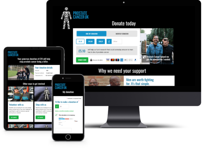 Prostate Cancer UK Sees Spike In Online Giving After Transforming Digital Donation Journey