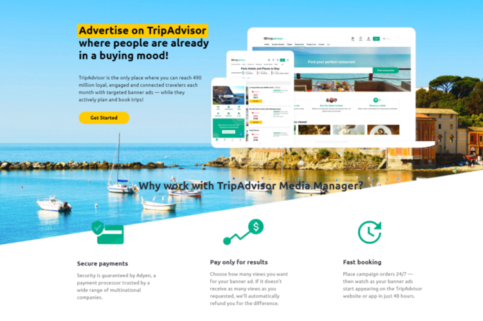 TripAdvisor Launches its First Self-Service Advertising Platform