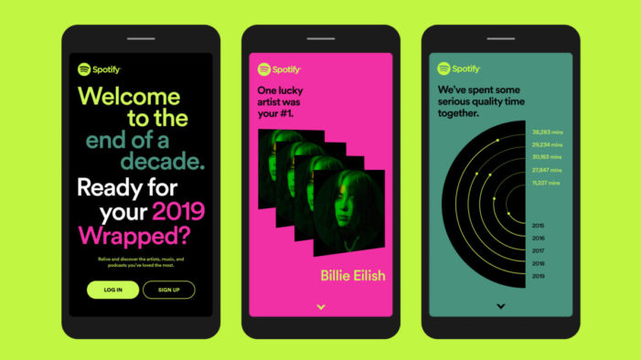 Spotify Launches Wrapped Campaign, Digs into Past Decade of Music and Podcasts