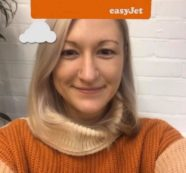 Instagram AR Filter for easyJet