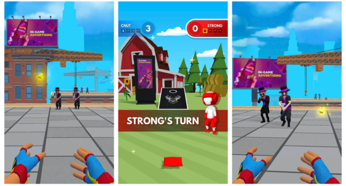 French hyper-casual publisher TapNation integrates Adverty's in-game ad technology into multiple games