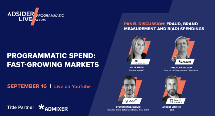 Admixer to join other leading industry players at upcoming Adsider LIVE/Programmatic Spend event
